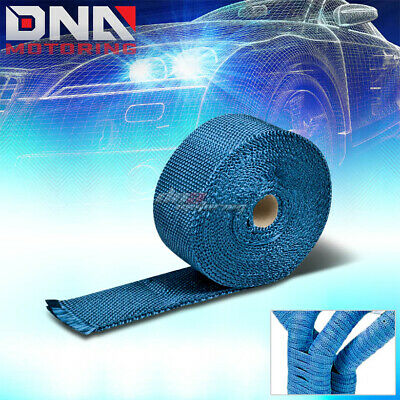2x 1//16x 50 Green High Temperature Manifold Exhaust Thermal Wrap for GMC