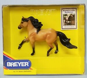 Breyer-1173-Boones-Little-Buckaroo-Buckskin-Miniature-Model-Horse-SEMIGLOSS-NIB