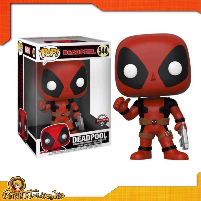 divertimentoko Pop  di Deadpool della Marvel pollice su versione gigante da 25 cm Nuova