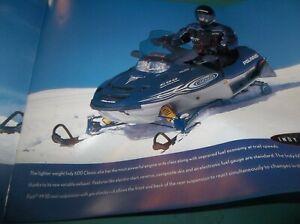 Details about NOS Polaris Snowmobile 2002 sales brochure