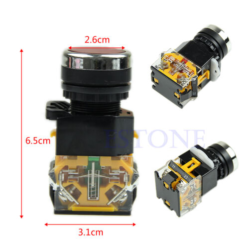 Stop Industrial REPLACEMENT HD Start Heavy Duty DPST Push Button Switch