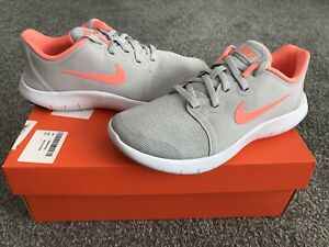 best service 07a6c 3a608 Image is loading NIKE-Flex-Contact-2-Older-Girls-Trainers-Grey-