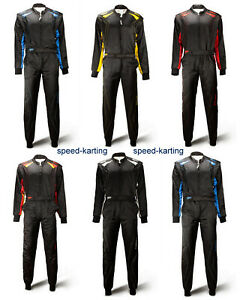Speed-Kartoverall-SILVERSTONE-RS-2-Top-Rennoverall-2-lagig-Groessen-140-4XL