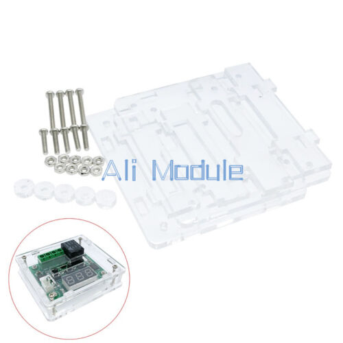 Clear Acrylic Case Shell Kit for XH W1209 Digital Temperature Control Module UK