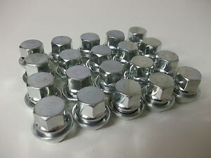 Wheel-Nuts-x-20-Fit-Ford-Mondeo-MK1-MK2-MK3-MK4-MK5-Alloy-Wheels-Only-PE1019