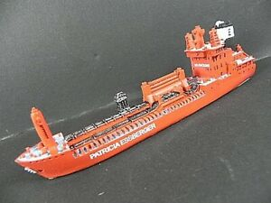 Ship-Model-Container-Ship-Essberger-18-CM-Polyresin-Africa-Cape-Town-New