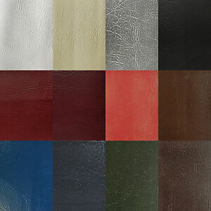 LEATHERETTE-VINYL-FABRIC-1m-METRE-Fire-Retardant-Faux-Leather-Upholstery-Fabric