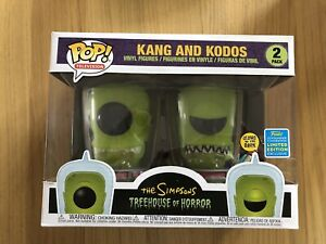 Kang-And-Kodos-Glow-GITD-The-Simpsons-Treehouse-Of-Horror-Sdcc-Funko-Pop
