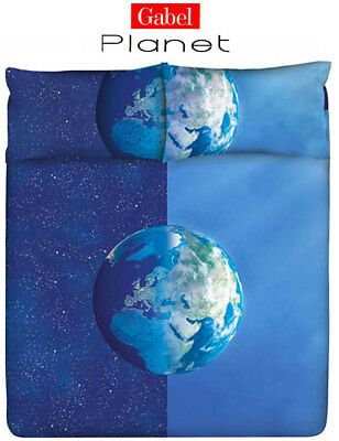 Copripiumino Gabel Planet.Completo Copripiumino Matrimoniale Gabel Planet Sunlight Terra