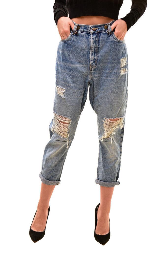 One Teaspoon Women's  Jeans S Coco Midi RRP 150 BCF712