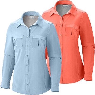 Columbia Arrowhead Trail II Short Sleeve Shirt Women/'s Size XL Coral
