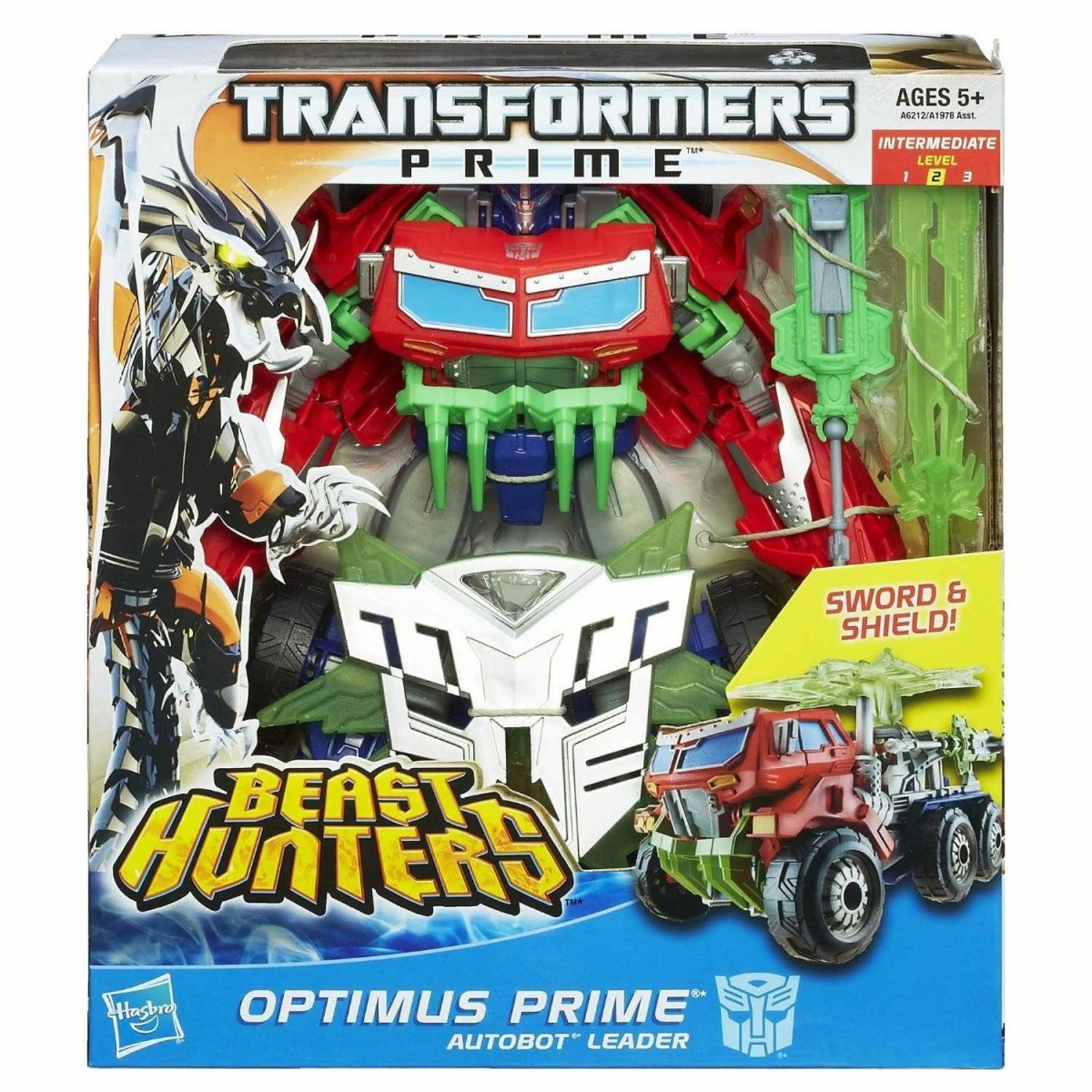OPTIMUS PRIME • C9 • BEAST HUNTERS • HASBRO TRANSFORMER MINT IN SEALED BOX