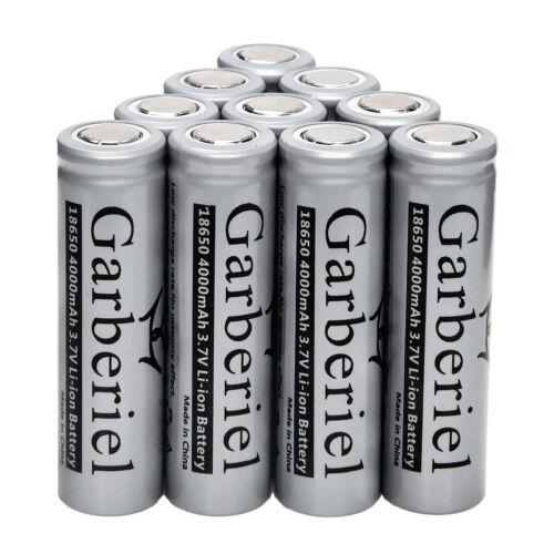 4000mah 18650 Battery 3.7V Rechargeable Li-ion Flat Top Battery For Vape Mods