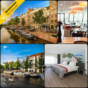 3-Tage-2P-Amsterdam-4-Hotel-Amstelveen-Kurzreise-Hotelgutschein-Reiseschein-UF