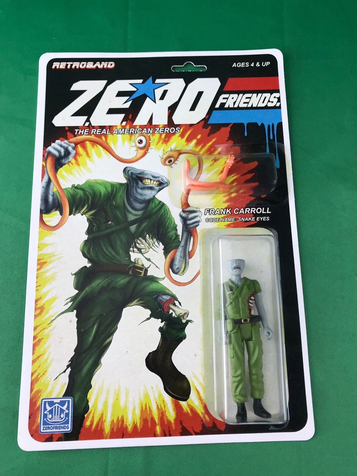 Retroband Zero Friends - Frank Carroll - Snake Eyes