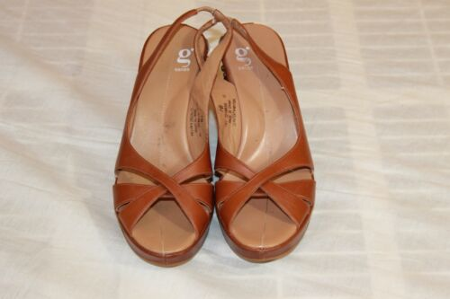 COLE HAAN G Series w/ Gems Wedge Shoes Sz. 7