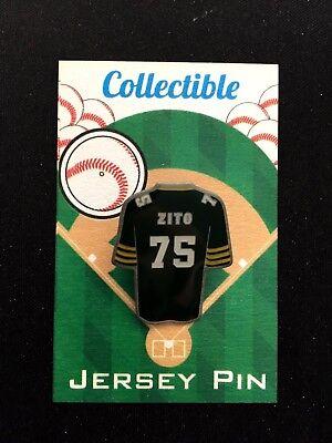 Sport Aufrichtig Oakland Athletics Barry Zito Trikot Revers Pin-a's Nation Klassisches Weich Und Rutschhemmend