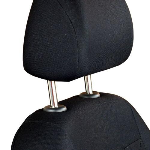 Schwarze Sitzbezüge für HYUNDAI IX35 Autositzbezug VORNE NUR FAHRERSITZ