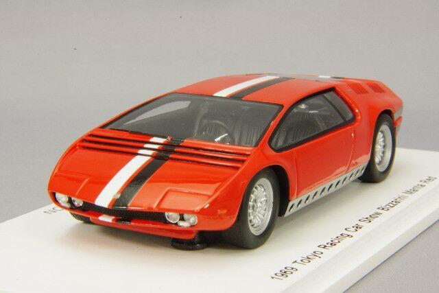 Spark 1:43 Bizzarrini Manta 1969 rosso Tokyo Racing Car Show from Japan