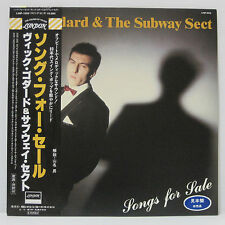 VIC GODARD & THE SUBWAY SECT - Songs For Sale LP 1982 JAPAN PROMO PUNK SWING