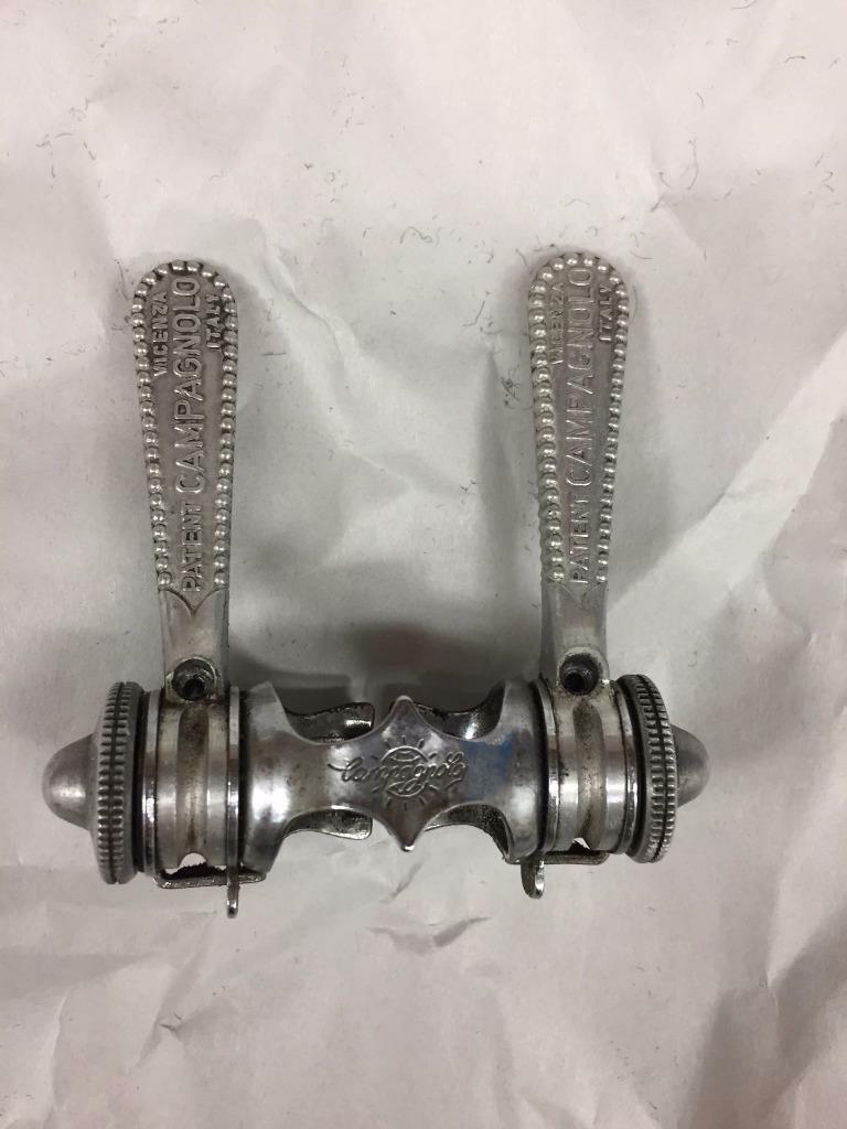 Vintage Campagnolo early Nuovo Gran Sport SHIFTERS Campy