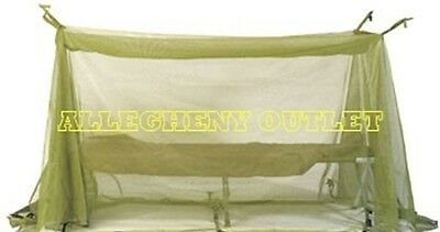 """Mosquito Insect Canopy Field Netting Net US Military JUMBO 200"""" x 72"""" 17'X6' NWT"""