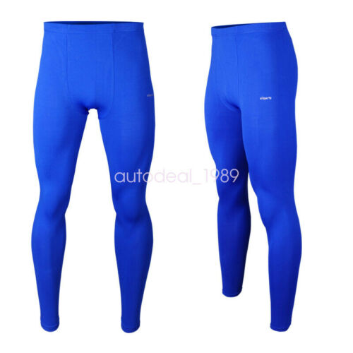 1x Men Sportwear Fitness Running Compression Under Base Layers Long Pant Tights