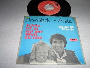 ROY-BLACK-ANITA-45-TOURS-BELGIQUE-SCHON-IST-ES-AUF-DER