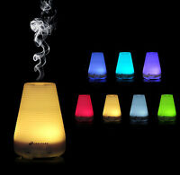Colour Changing Aromatherapy Essential Oil Diffuser Mist Air Humidifier