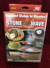 Stone Wave Microwave Cooker Non Stick Ceramic Stoneware Baking Pan Astv For Sale Online