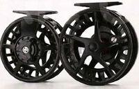 Fly Fishing Reel Aluminium Alloy Diecast Reel Size 7/8 In Black Boxed Uk