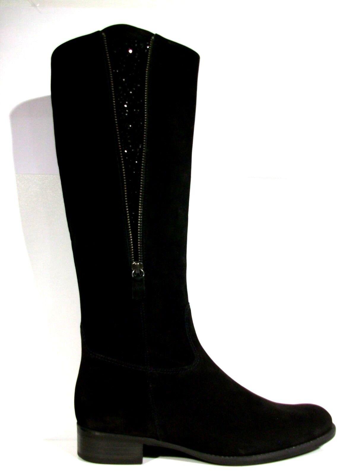 GABOR STIEFEL DAMEN Boots Gr. UK 5 (DE 38) Leder schwarz