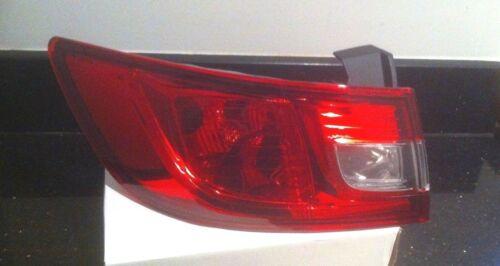RENAULT CLIO REAR LIGHT OUTER PASSENGER LEFT HAND  2012 ON