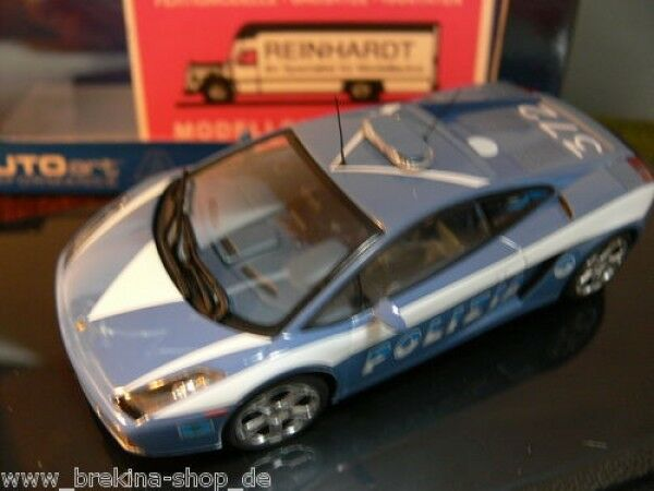 1 43 AUTOART Lamborghini Gallardo Police Car I 54576