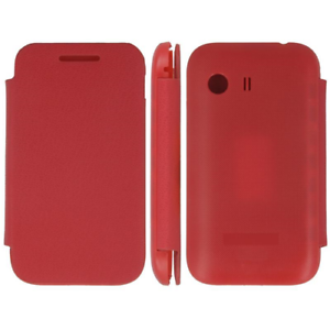 Case-in-PVC-amp-Eco-Leather-Red-Flip-Cover-for-Samsung-Galaxy-Y-S5360