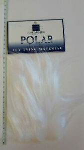 FlyTying-Synthetics-H2O-034-POLAR-034-3-034-X4-034-Patch-Lifelike-3-034-Fibre-WHITE
