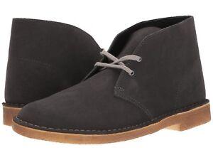 Clarks Dark 29906 Desert Men's Grey Suede Ebay 261 Original Boots dfInpq