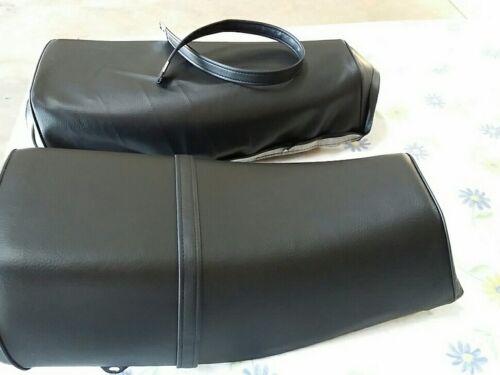 H194--n17 HONDA XL250S XR250 XL500S 1978 TO 1981 MODEL SEAT COVER  PLUS STRAP