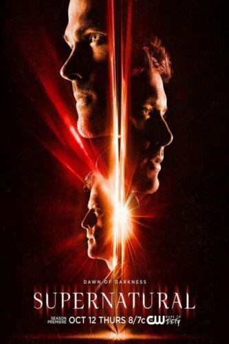 B541 Supernatural TV series Season 13 Jared Padalecki Premiere Poster wall deocr