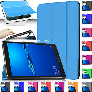 Leather-Magnetic-Stand-Smart-Case-Cover-For-Huawei-MediaPad-M3-Lite-8-034-Inch-2017