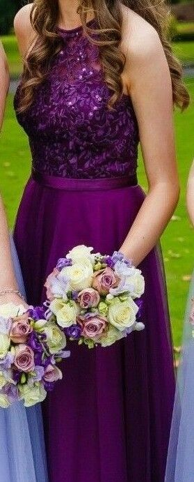 Mori Lee Tulle Bridesmaid Dress with Beaded Embroidery 2016
