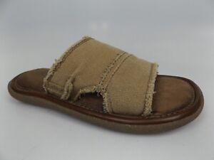 Crevo-Mens-Fremont-II-Tan-Memory-Foam-Slide-Comfort-Sandals-SZ-8-0-M-16125