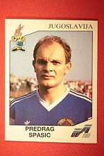 Panini EURO 92 N. 71 JUGOSLAVIJA SPASIC NEW WITH BLACK BACK TOP MINT!!
