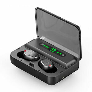 Cuffie-stereo-senza-fili-con-mini-auricolare-Bluetooth-Auricolare-TWS-Auricolari