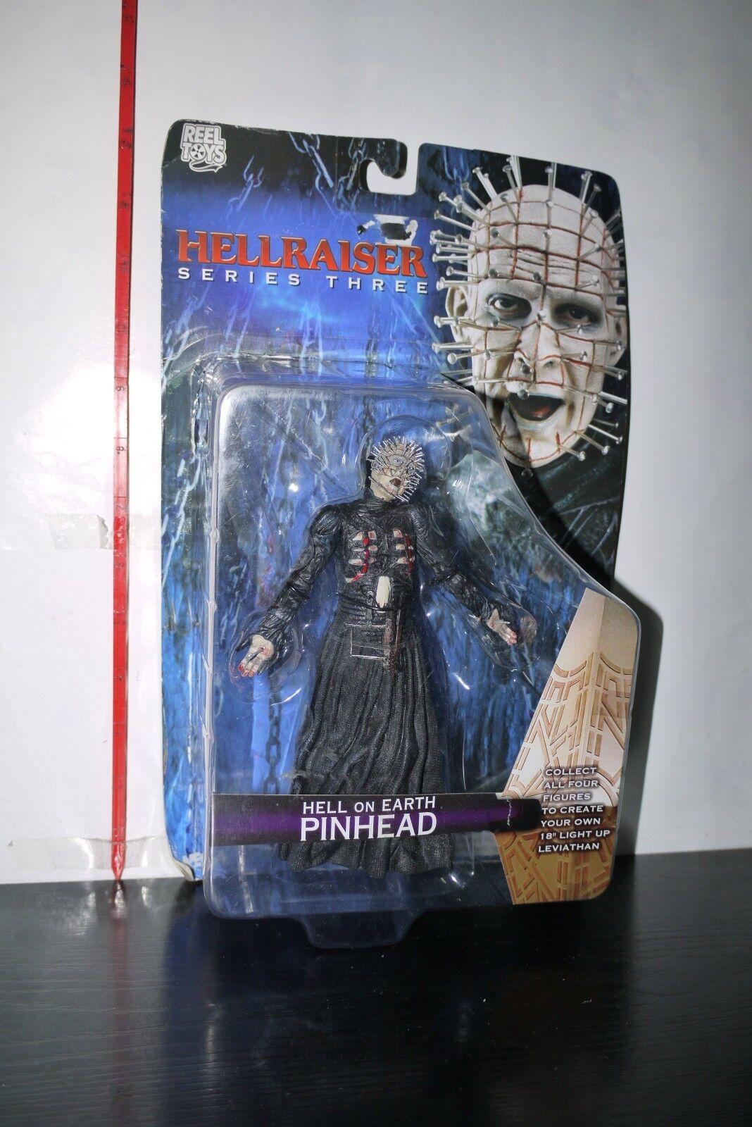 Reel Toys NECA 2004 Series 3 Hellraiser HELL ON EARTH PINHEAD Action Figure