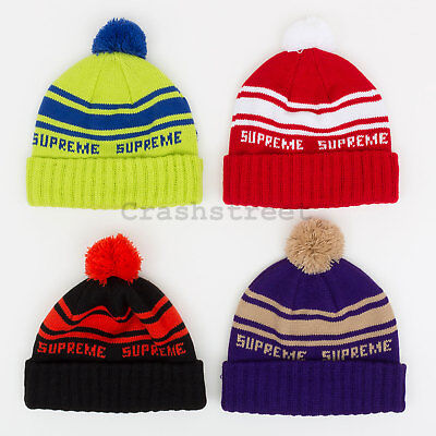 Supreme FW18 New Era Big Logo Headband beanie cap camp logo shirt box hat tee