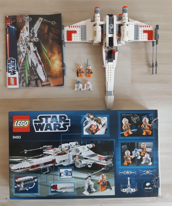 Lego star wars 9493 complet + notice boite toutes figurine minifigure personnage