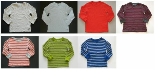 Baby Gap kids boys basic long sleeve school stripe solid holiday top shirt tee 4