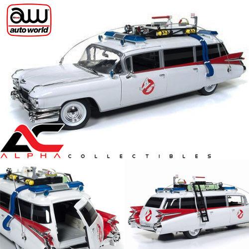 Autoworld AWSS 118 1 1 1 18 1959 Cadillac Eldorado Ecto - 1 Ghost Buster dc4cf6