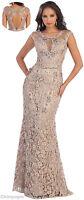 Lace Formal Designer Dress Evening Unique Prom Gown Pageant Red Carpet Party
